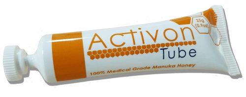 Activon Tube Activon med je medicínskou formou medu Manuka s výborným antibakteriálnym účinkom, ktorý nebol dokázaný u iných druhov medu.